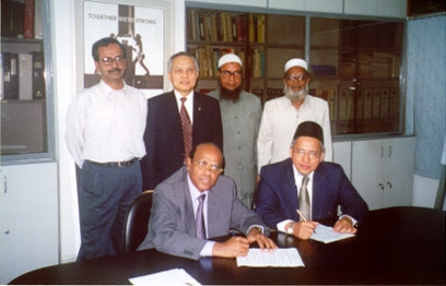 ACNABIN signing ceremony