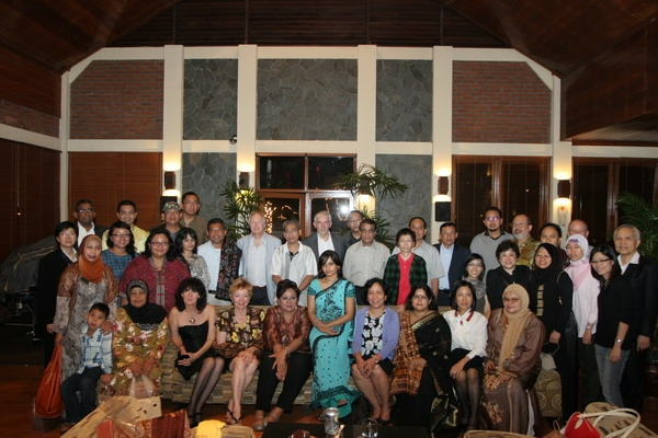 ASNAF delegates with family members
