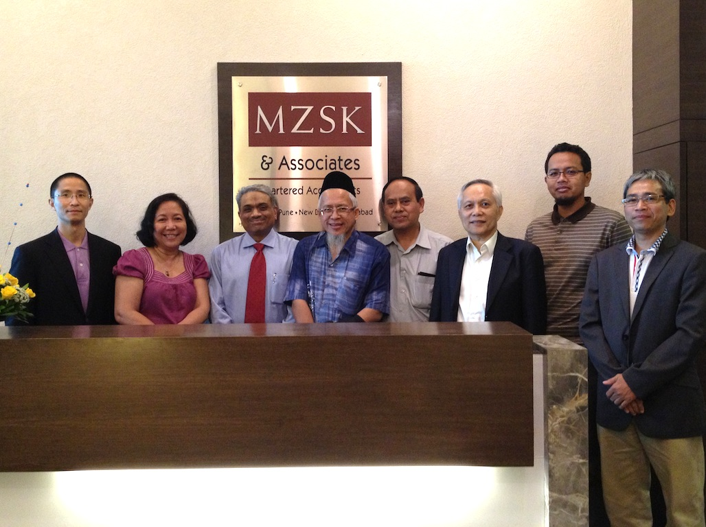 ASNAF delegates at MZSK office