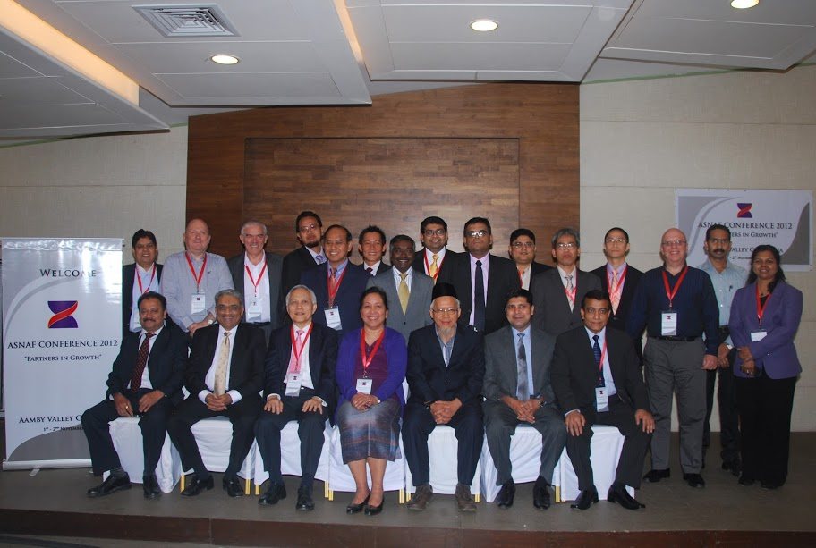 Delegates at the ASNAF Conference 2012