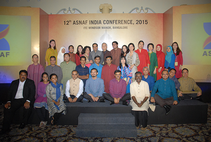 Delegates at the ASNAF Conference 2013.